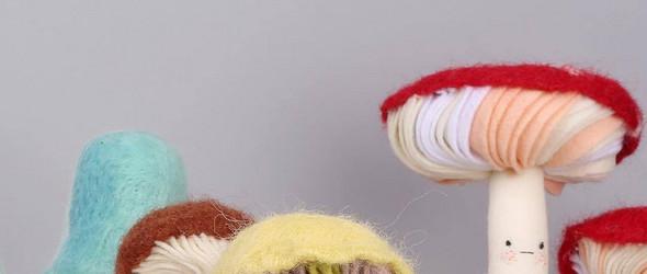 温暖而卖萌的羊毛毡玩偶 | 澳大利亚设计师 Cat Rabbit 最新作品集
