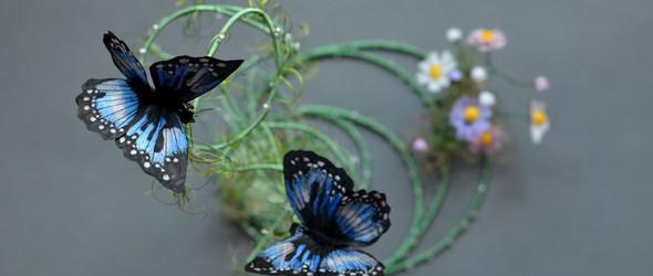 创作记 | 穿梭在花草间的精灵-软雕塑艺术之《昆虫》