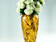 经典欧式彩色艺术玻璃插花器 马赛克花瓶 家居摆件客厅软装饰果斗
