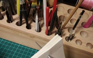 自己装订手工书-简单又方便的本芯打孔方法