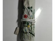刺绣笔袋,钩针袋