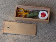 榉木针线盒