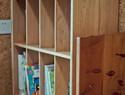 会员小姐姐制作小书柜过程详解