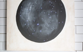 星座与星空背景灯饰&挂画DIY教程