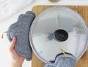 DIY布艺教程:如何制作云朵造型的隔热垫(附模板)