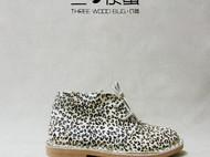 三の木虫--白小豹--手工马毛鞋--圆头平底纯手工 复古森女文艺范