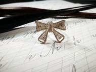 绕线首饰-蝴蝶结戒指