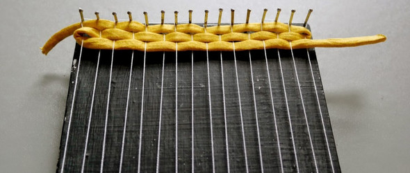 简单织机(Weaving Loom)DIY教程