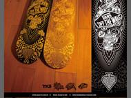 与VANS合作的镭射雕刻滑板,滑板木头做的手机壳等