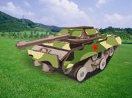 木制坦克模型