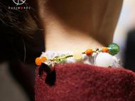 红绳手链和田玉925纯银饰礼物宝宝本命年脚链手工原创编织手链女