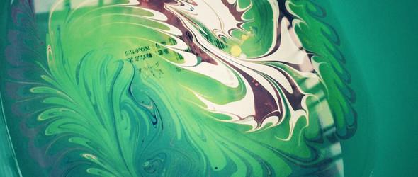 一些关于水拓画的试验