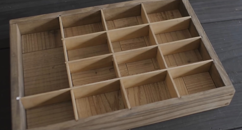 DIY木工视频教程:格子式的实木工具箱(首饰盒)