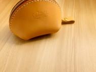 蝴蝶皮革手作贝壳零钱包 钥匙包