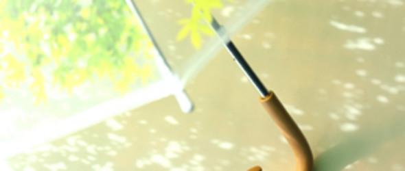 """生活的好设计:小清新的""""木漏れ日傘""""折叠雨伞"""