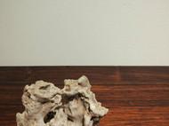 『洞天』风砺石文房案头石奇石禅意摆件清供笔搁原石孤品。