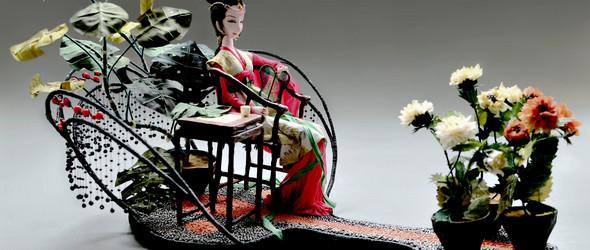 创作记   在暗夜中绚烂,唱最后一曲悲歌 - 软雕塑创作之王熙凤与贾探春