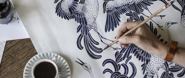 中国风情遇上北欧设计,唤起自然的美丽与活力 | Emma von Brömssen