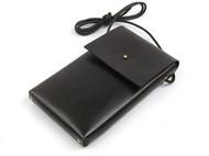 纯手工真皮手机包复古简约单肩包迷你牛皮手机钱包