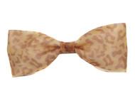 Ivenran 依雯然 纯手工工艺 豹纹色时尚蝴蝶结发夹 头饰发饰