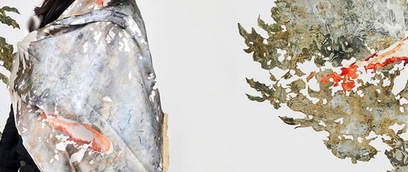 来自艺术的灵感×源于自然的材料丨比羊毛更暖的围巾