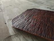 山水纹漆器木盘