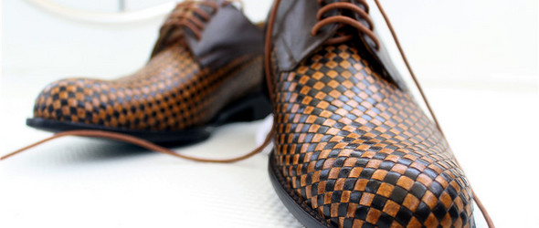Wanmo萬陌--纯手工编织皮鞋男士皮鞋(好有个性的皮鞋啊~~~~)