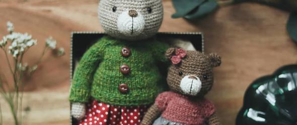 @dianapatskun:可爱而温暖的手工编织玩偶