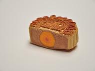 编织的蛋黄馅儿月饼