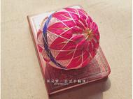 日式手鞠球桃红色八重菊