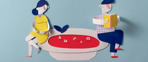 FOOD:幽默而有趣的纸艺定格动画电影