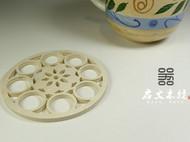 【造器】木杯垫 套圆花