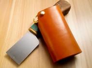 蝴蝶皮革手作 手工原创意多脂植鞣革钥匙包 手工阿根廷SDS钥匙扣