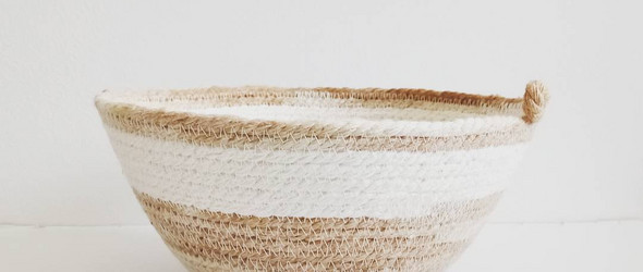 @rope_works:造型百变的绳编篮子与碗