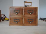 复古做旧收纳盒 全实木制作