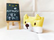 【原创手工定制】柴犬零钱包/卡包 /小狗