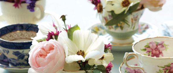园艺派对:茶碟物语——Tea-cup Centerpiece
