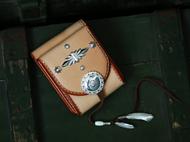 Thug Chimp手工皮具 高桥复刻 银饰 手工制作原色财布 钱包 腰包