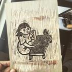 刀下留情 | 木刻版画相关❤