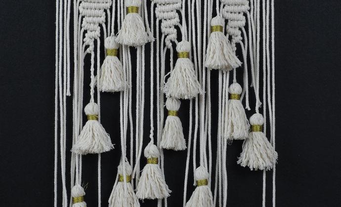 macrame挂毯 手工编织异域风壁挂墙饰 波西米亚家居饰品