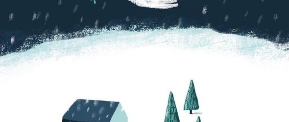 荷兰插画师Saskia Yda Heijmans的作品,让温柔和温暖并在