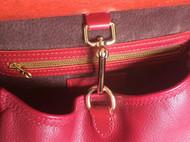 红色马鞍包