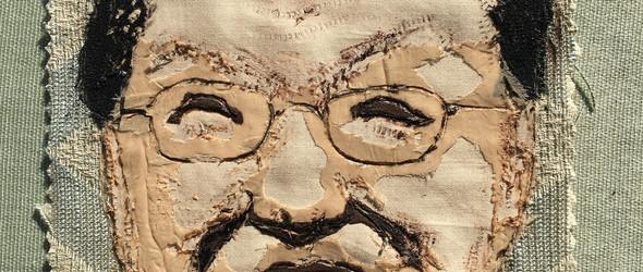一位退休老人的艺术拼贴画 |拙泥