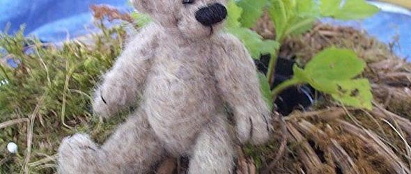 针毡diy教程:制作呆萌的羊毛毡小狗教程