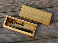 金丝柚木铅笔盒子