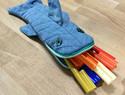 diy手工布艺教程:使用旧牛仔裤,制作可爱的鲨鱼笔袋教程