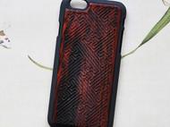 红木手机壳iphone6/6s/plus个性创意大工小匠原创设计万事如意款
