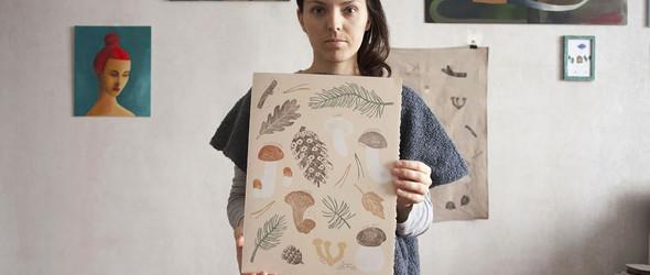 橡皮章也可以如此美丽 -艺术家Olga Ezova-Denisova作品