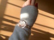 M.Q奎妮小姐 520·永恒的时间/925纯银天然珍珠手镯