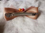小一 森林系香槟蝴蝶结发饰品头饰 发夹边夹发卡 浆果款